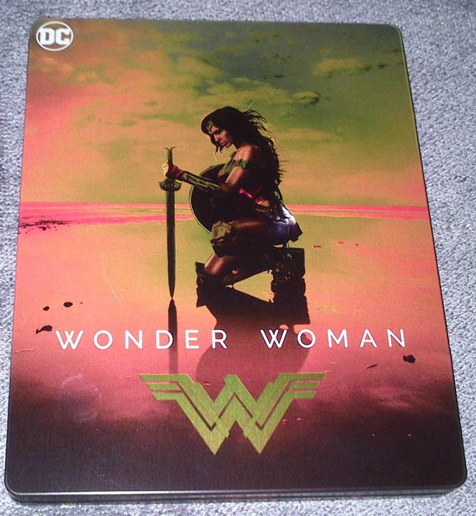 Wonder Woman MediaMarkt steelbook1