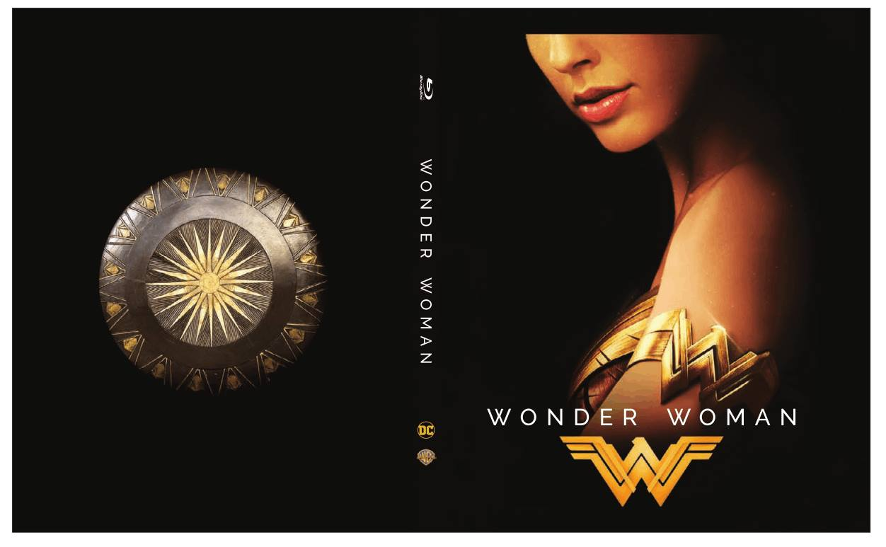 Wonder Woman steelbook AU 2