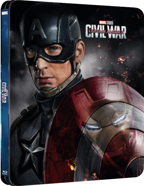 Civil War steelbook zavvi 1