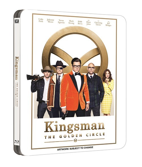 Kingsman The Golden Circle steelbook