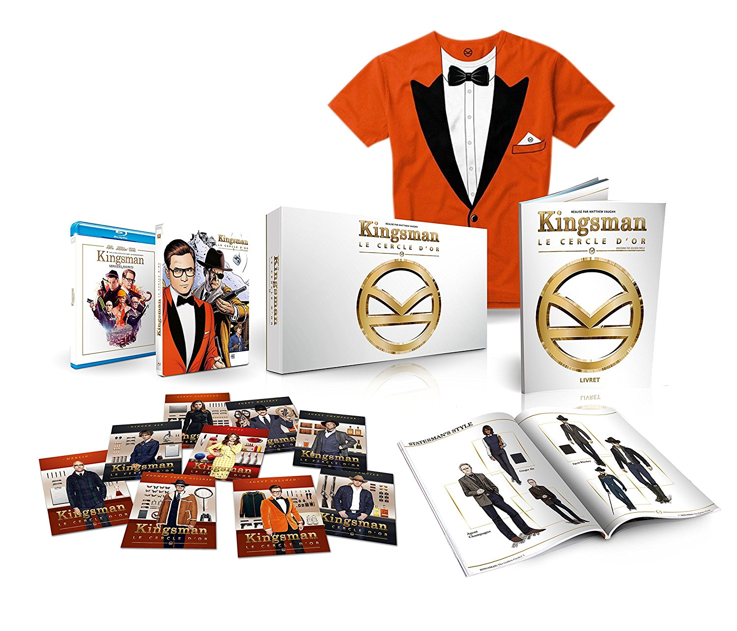 Kingsman cercle collector steelbook