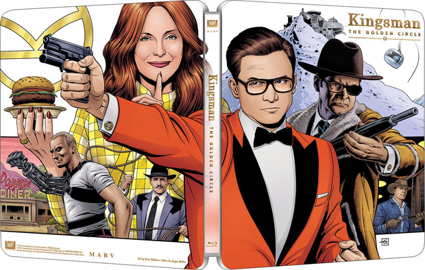 Kingsman golden circle steelbook