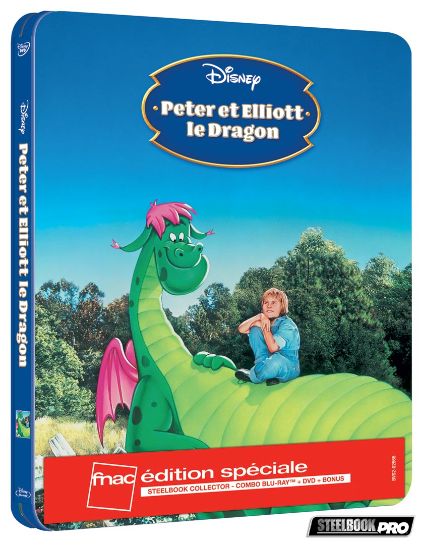 Peter-et-Eliott-le-dragon-steelbook-fnac