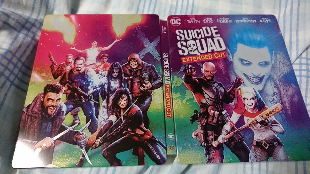 Suicide Squad steelbook 1