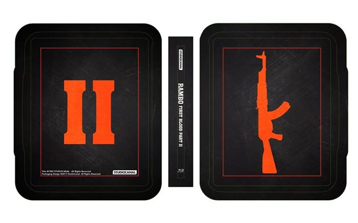 Rambo II steelbook 1
