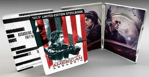 American Assassin steelbook