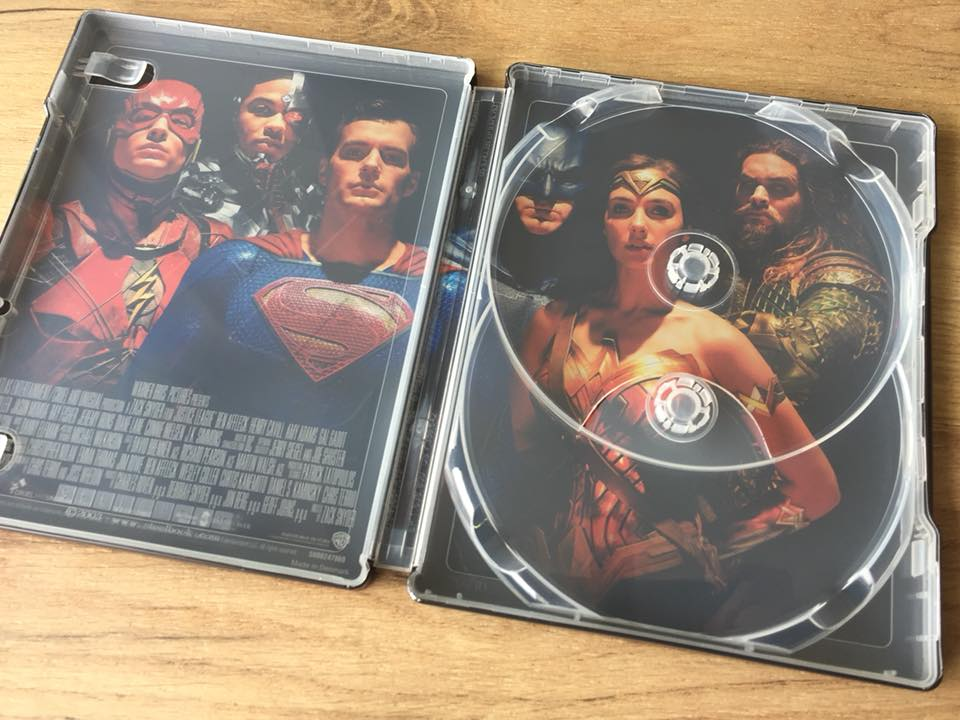 Justice League steelbook 3