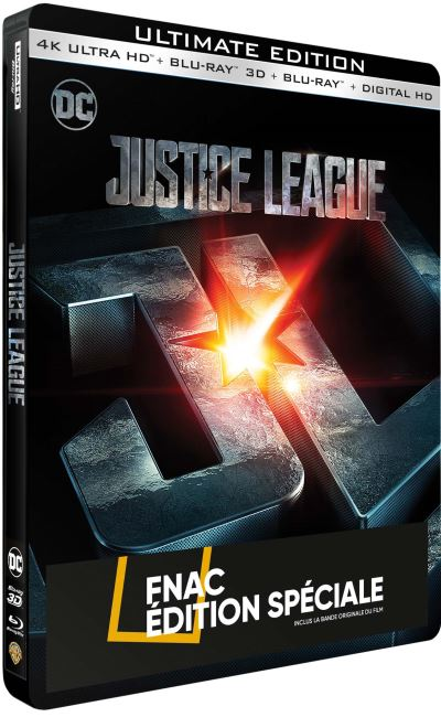 Justice league steelbook fnac