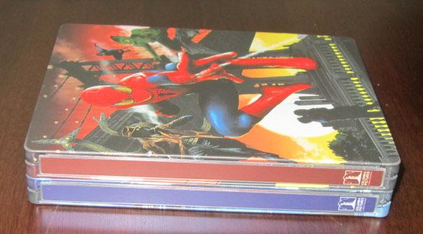 spiderman legacy steelbook bestbuy 4k 4