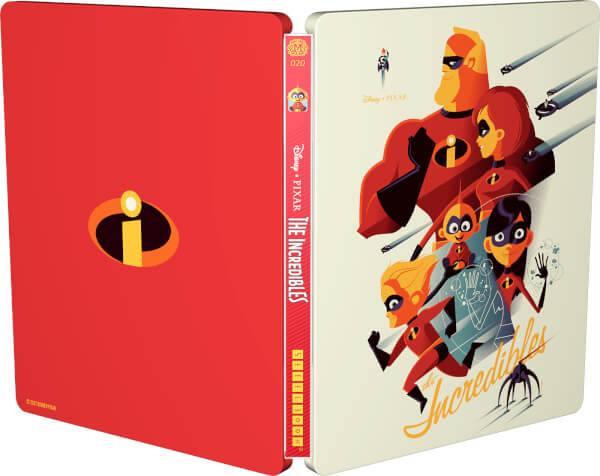 Incredibles steelbook mondo zavvi 2