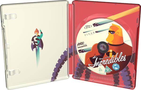 Incredibles steelbook mondo zavvi 3