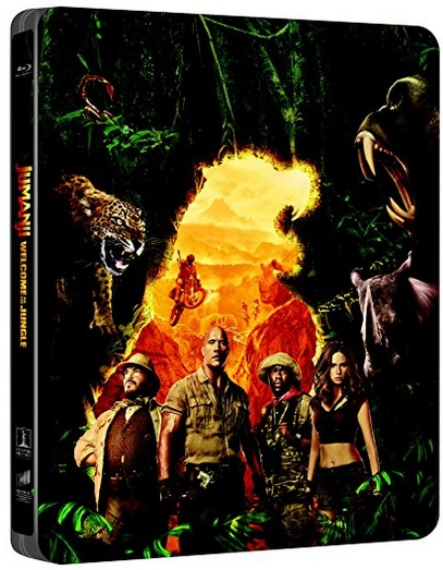 Jumanji Jungle steelbook it 1
