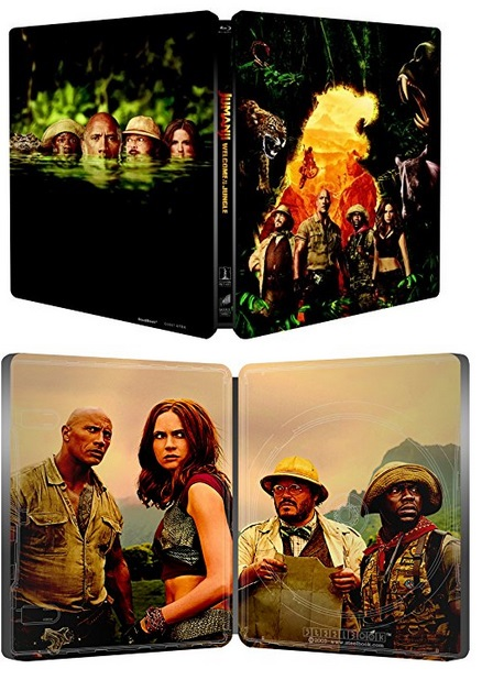 Jumanji Jungle steelbook it 2