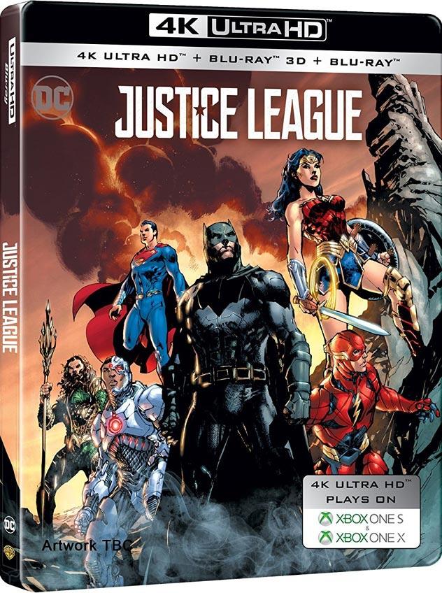 Justice League-4K-steelbook