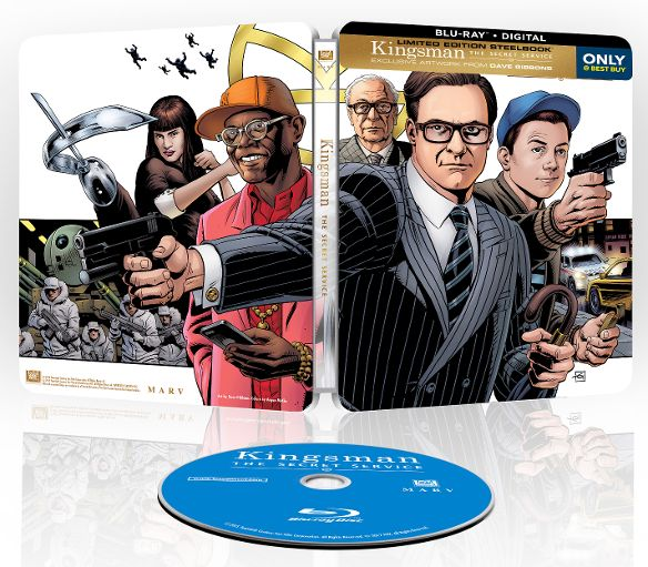 Kingsman secret steelbook bestbuy
