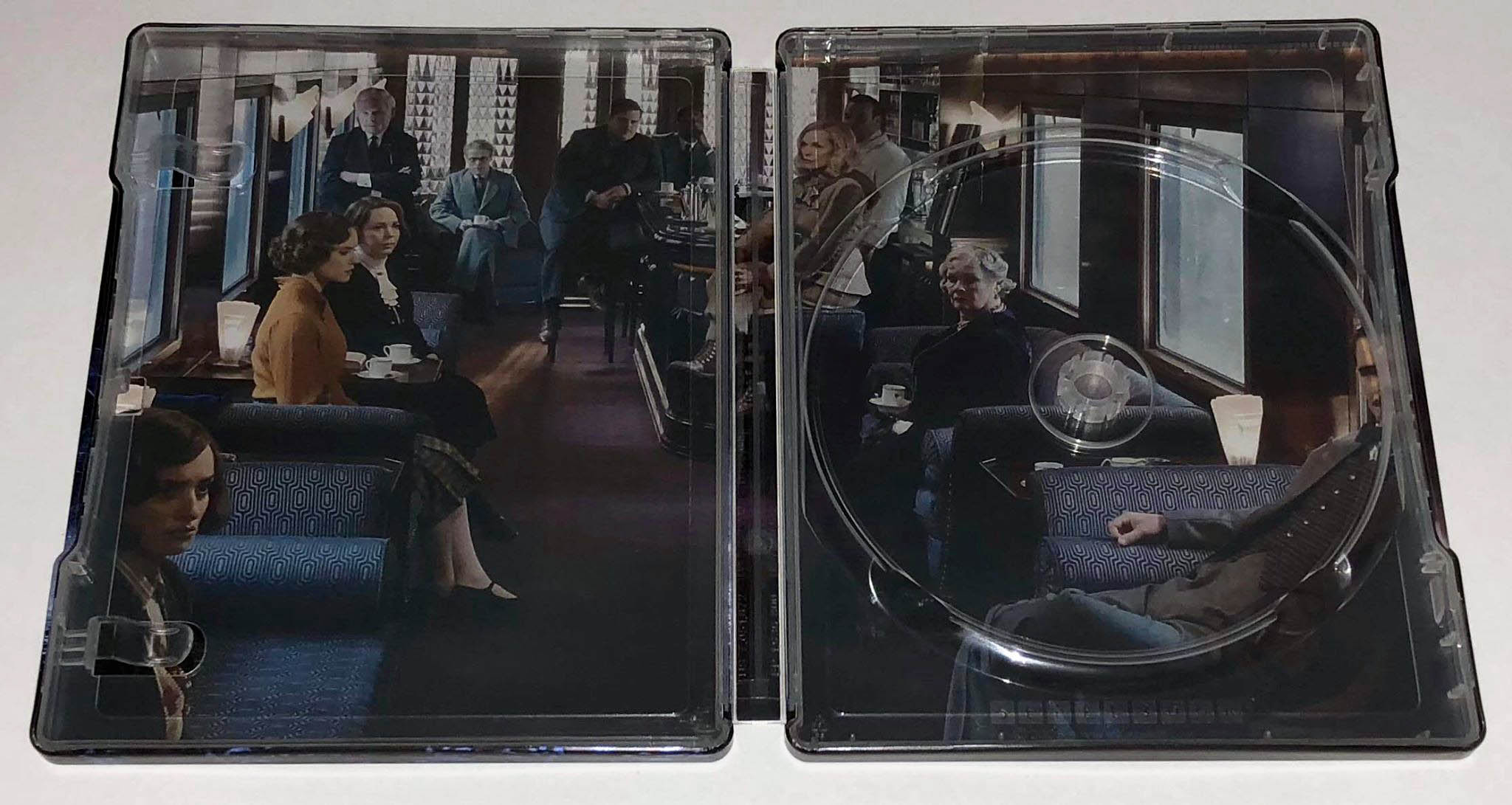 Murder on the Orient Express steelbook 2