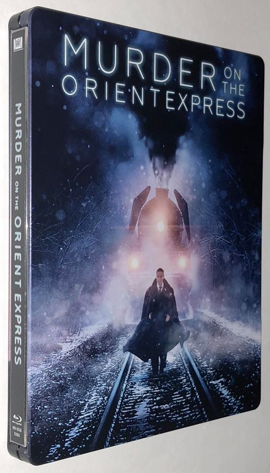 Murder on the Orient Express steelbook 3