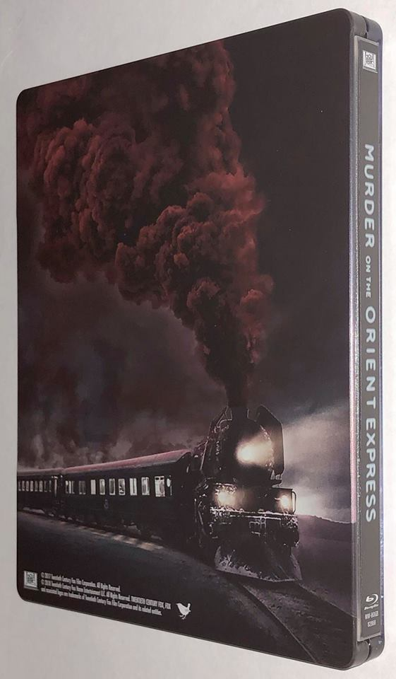 Murder on the Orient Express steelbook 4
