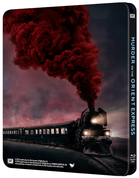 Murder on the Orient Express steelbook zavvi 2