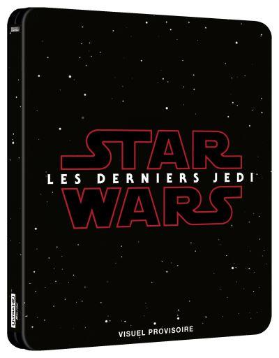 Star Wars Last Jedi steelbook