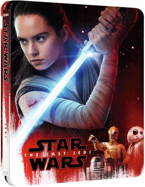 Star Wars The Last Jedi steelbook zavvi 1