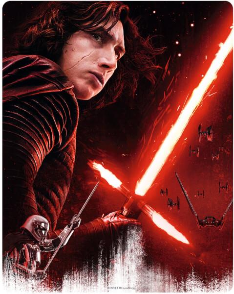 Star Wars The Last Jedi steelbook zavvi 2