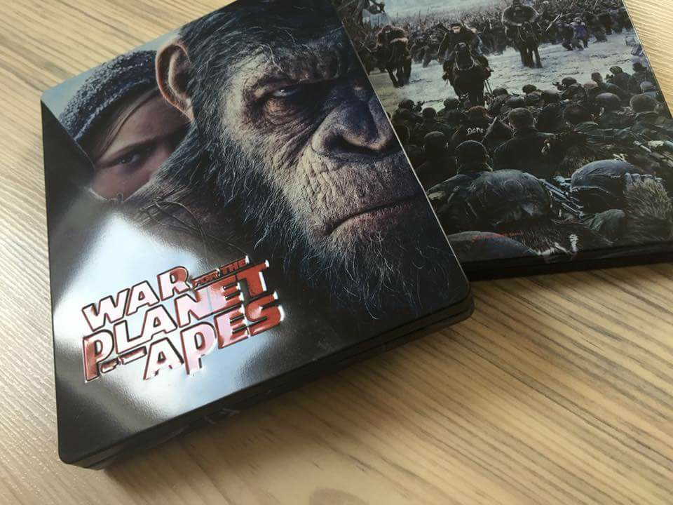 War for the planet of the Ape steelbook filmarena 1