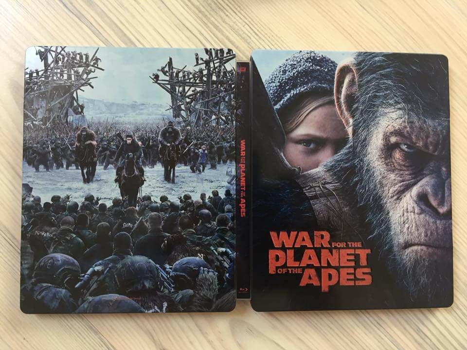 War for the planet of the Ape steelbook filmarena 2