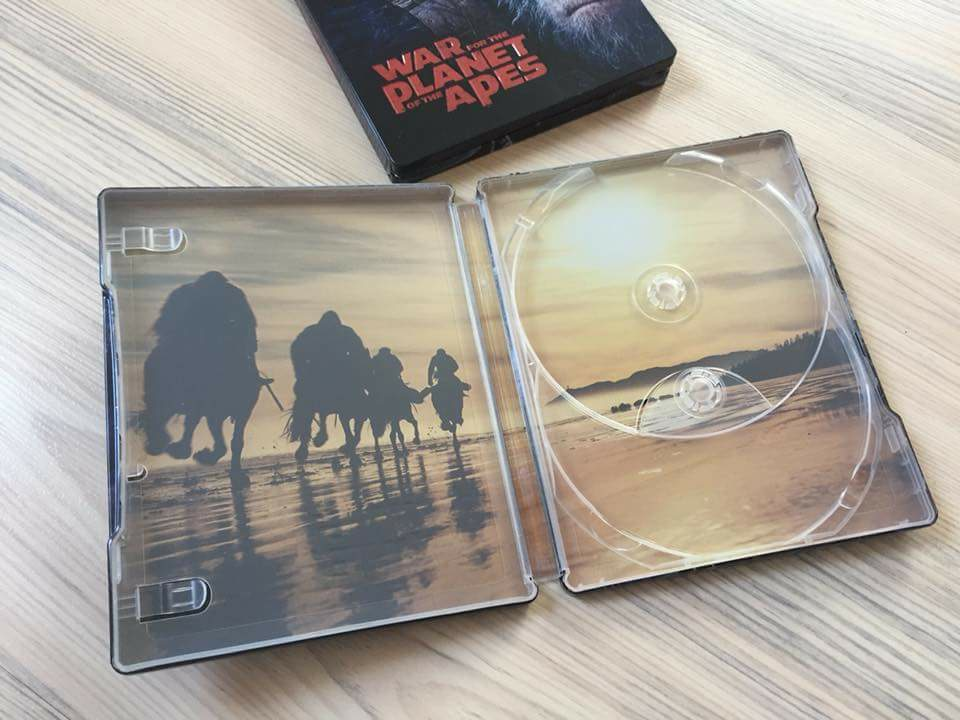 War for the planet of the Ape steelbook filmarena 3