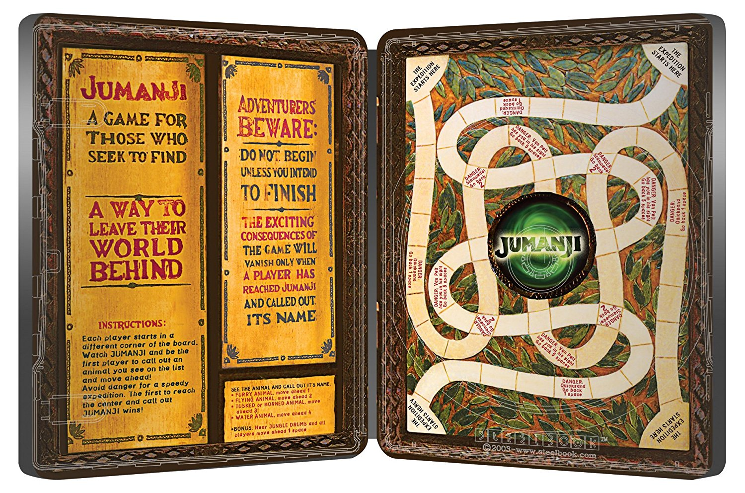 jumanji board game instructions