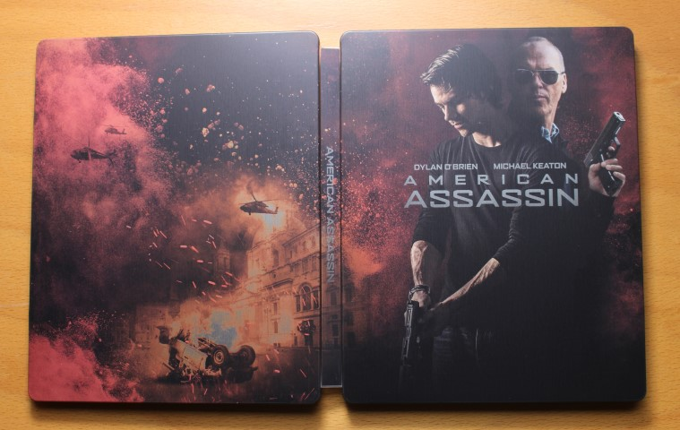 American Assassin steelbook 1