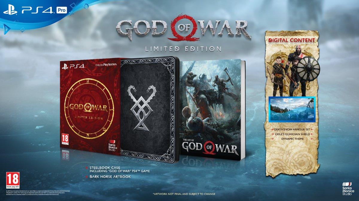 God of War limited steelbook fr
