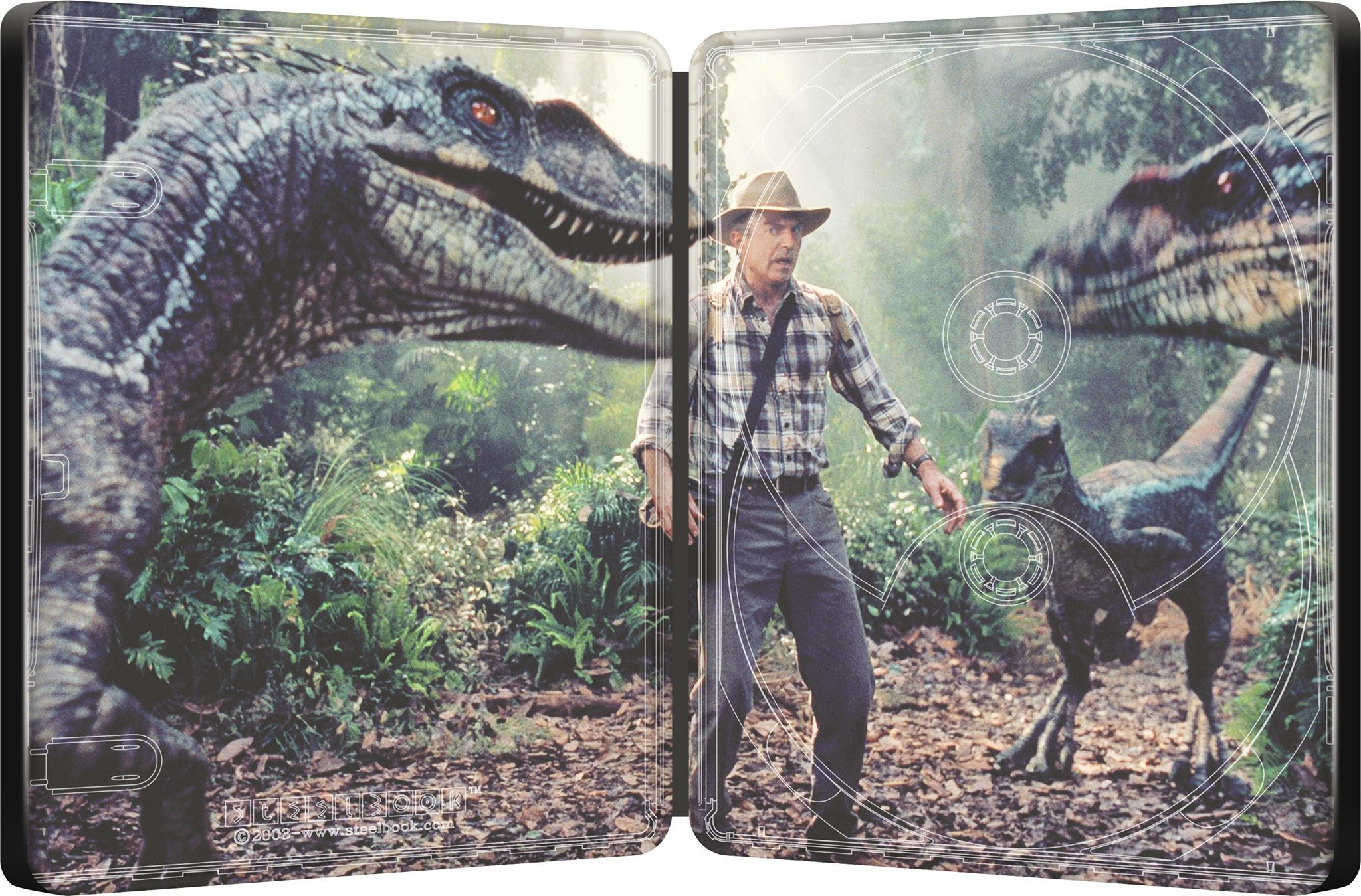 Jurassic Park III steelbook 2