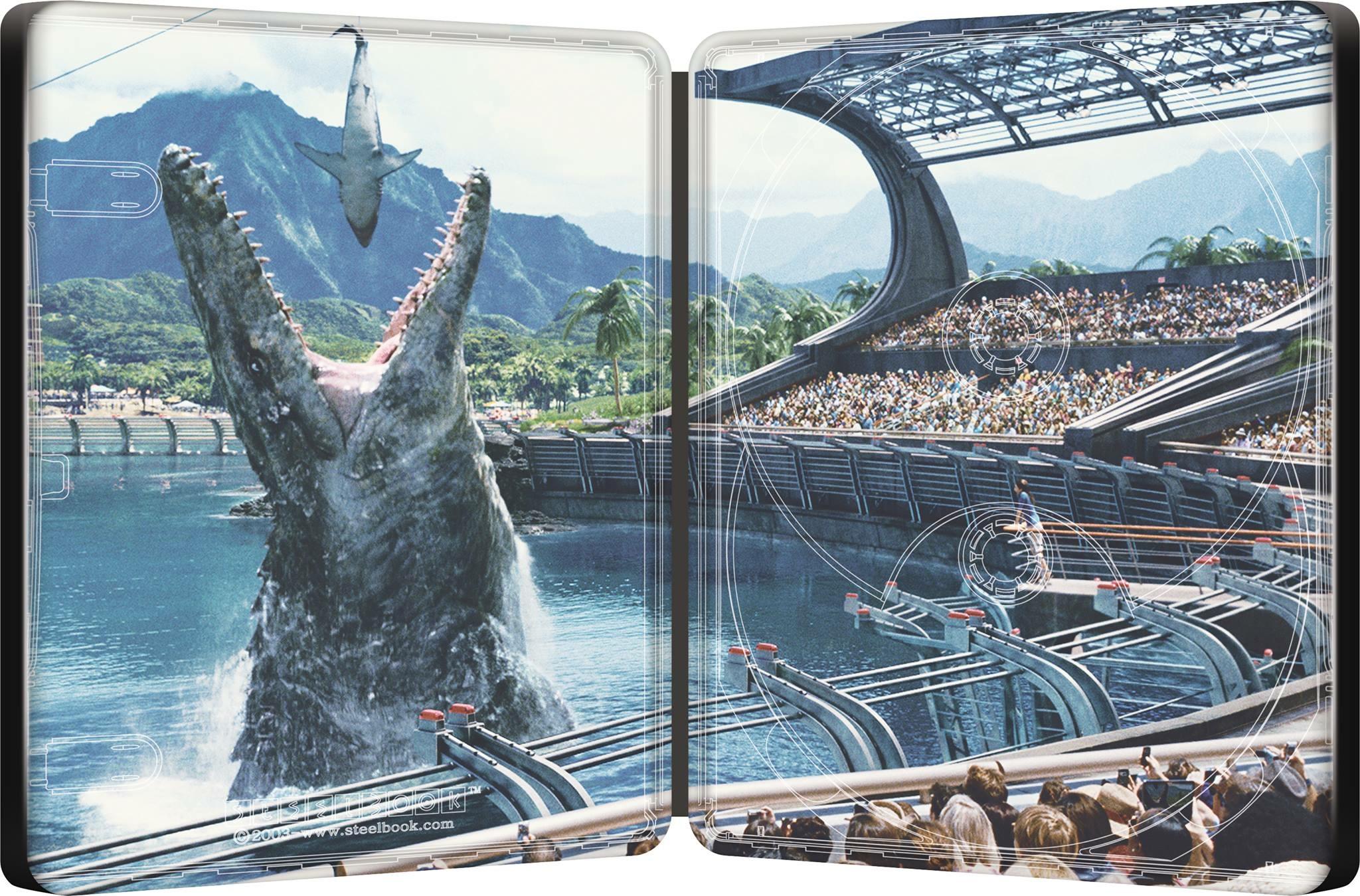 Jurassic World steelbook 2