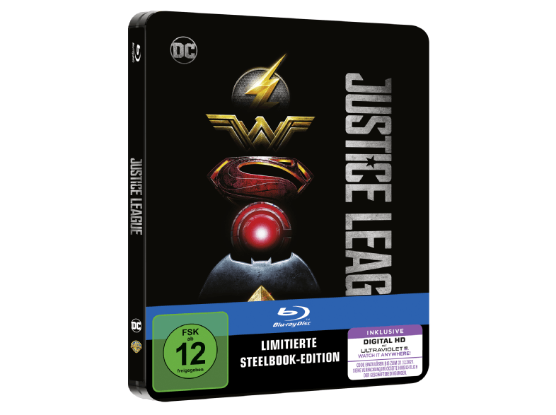 Justice League steelbook DE 1