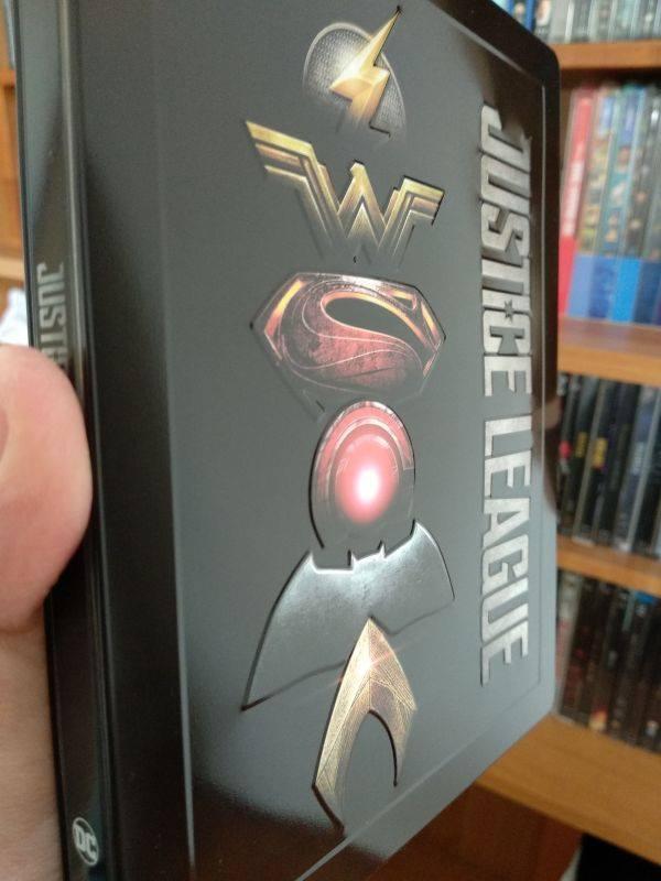 Justice League steelbook IT 1