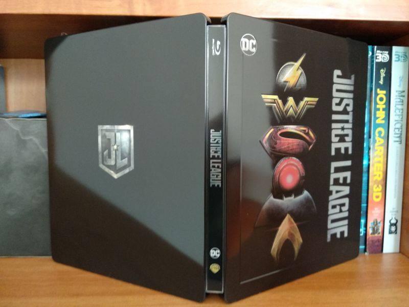 Justice League steelbook IT 2