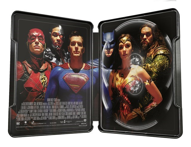 Justice league steelbook 2