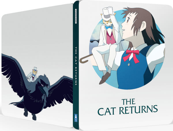 The Cat Returns steelbook zavvi 1