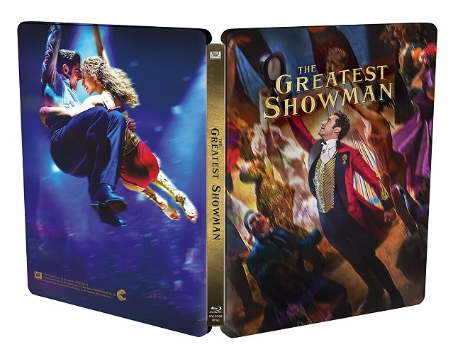 The Greatest Showman steelbook 2