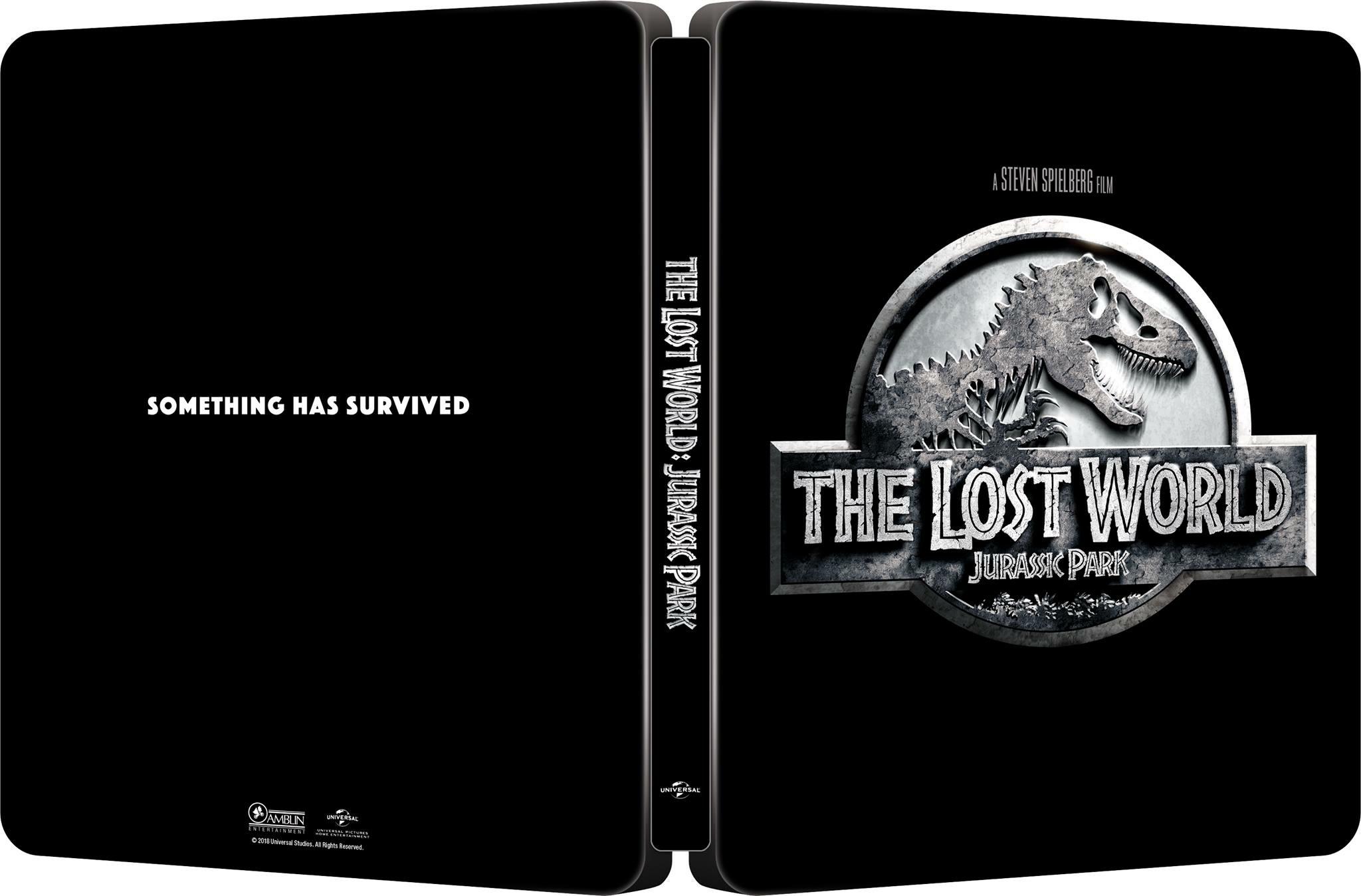 The Lost World Jurassic Park steelbook 1