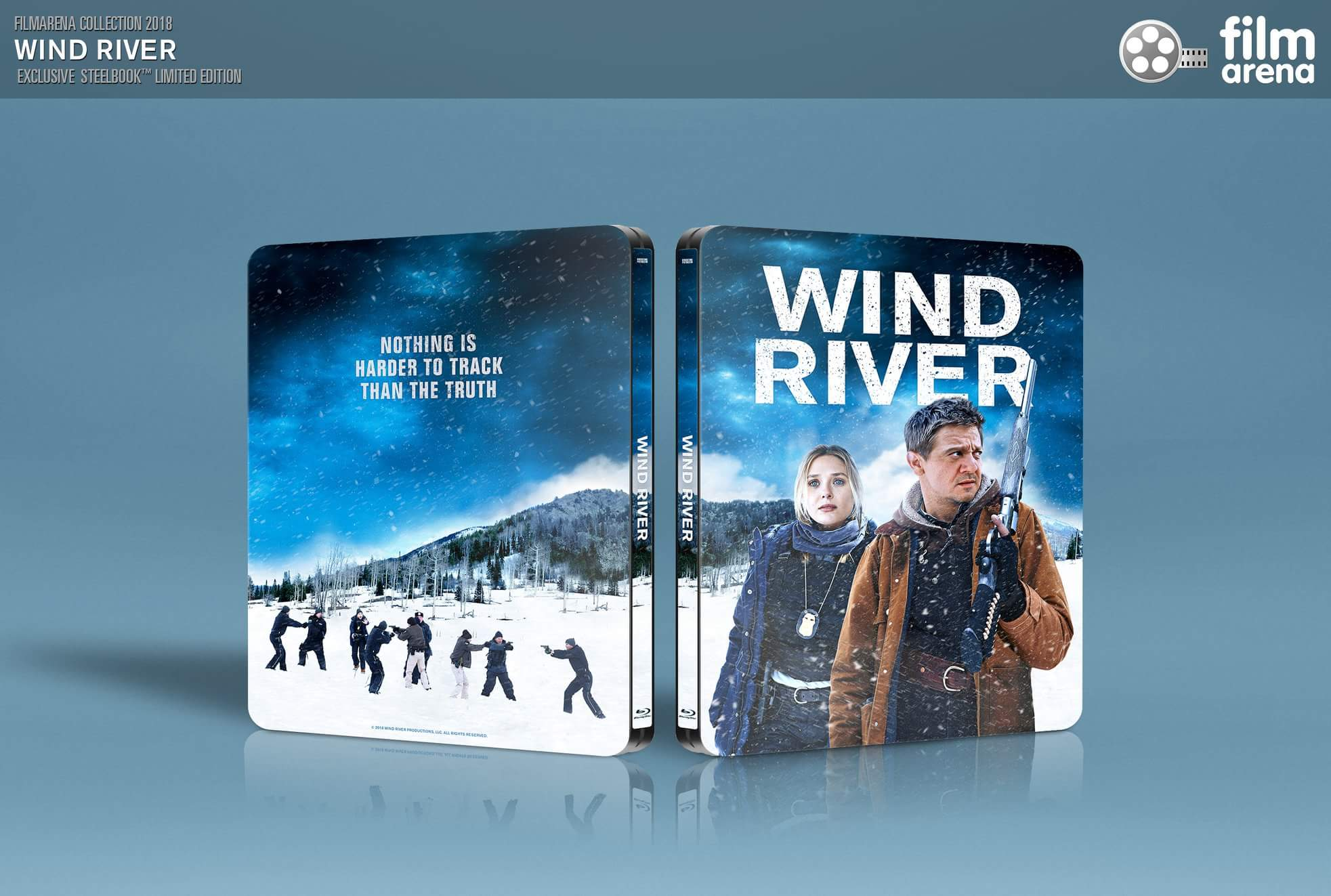 Wind River steelbook filmarena
