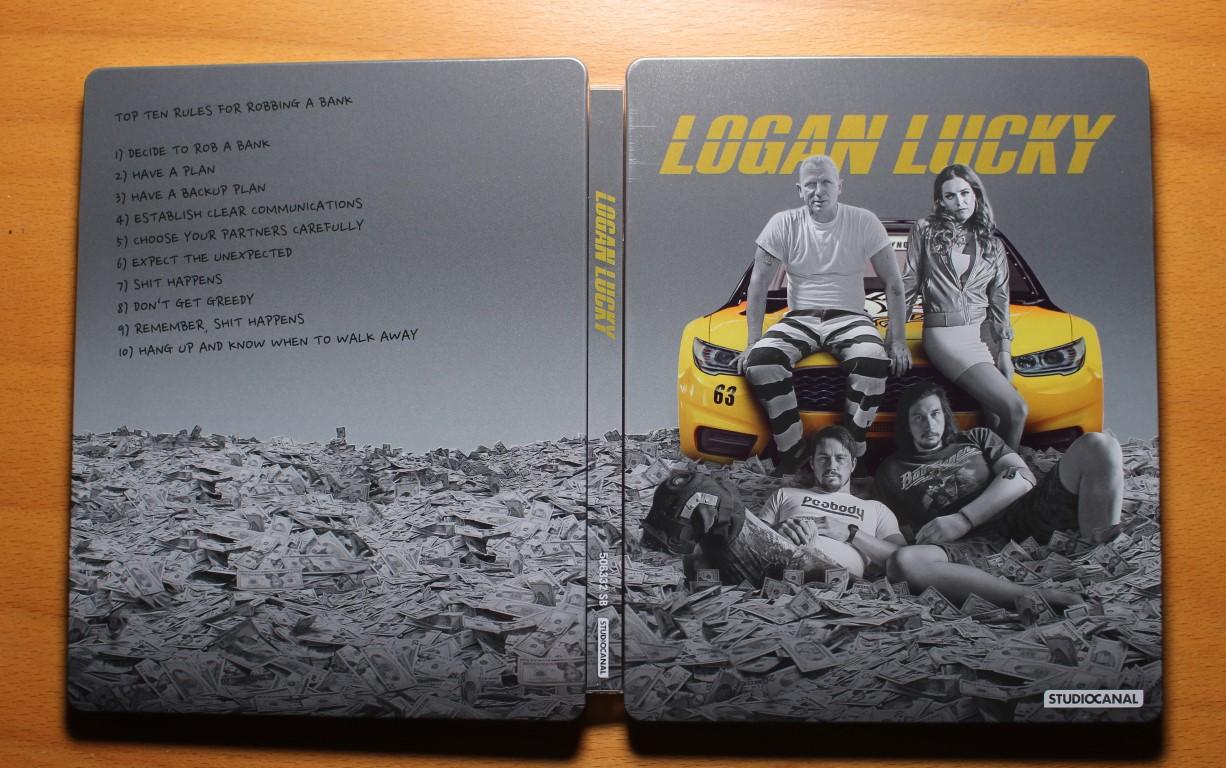 logan Lucky steelbook 1