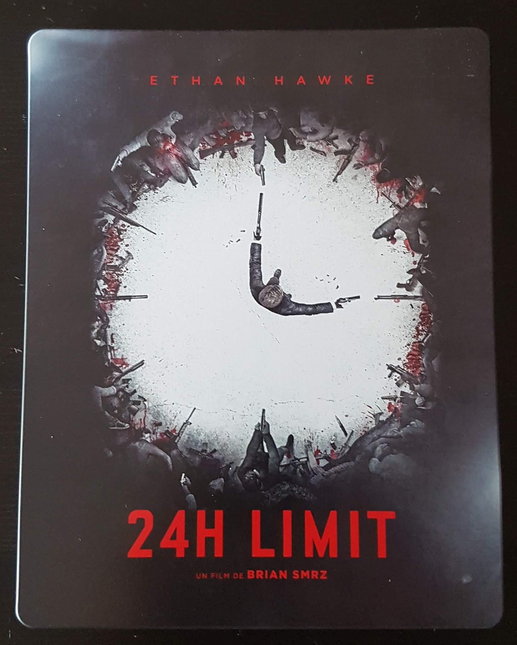 24H Limit steelbook 1