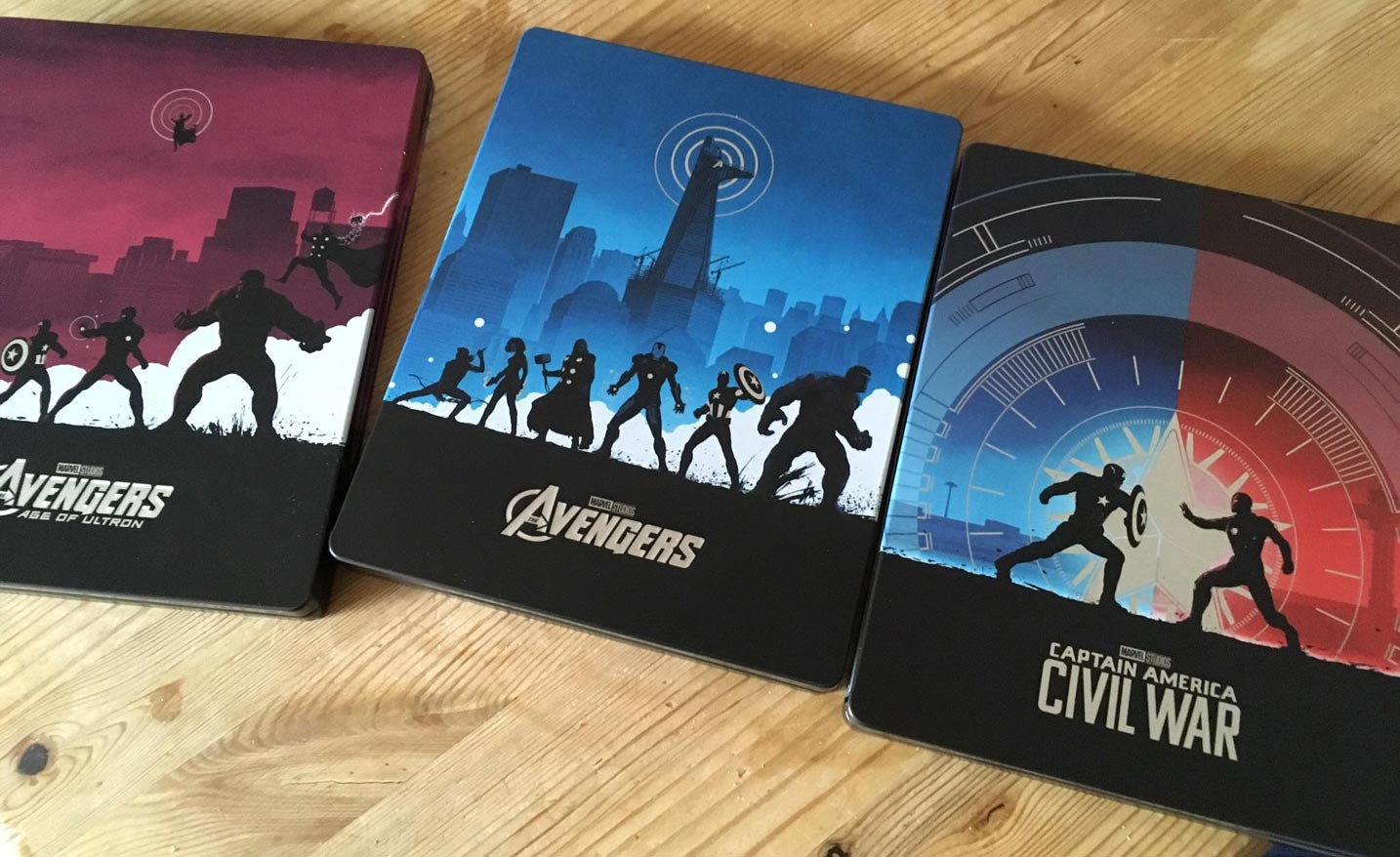 Captain America Civil War steelbook Bestbuy