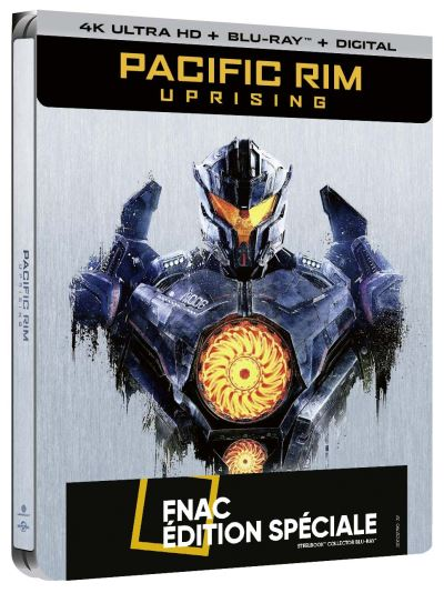 Pacific Rim Uprising steelbook 1