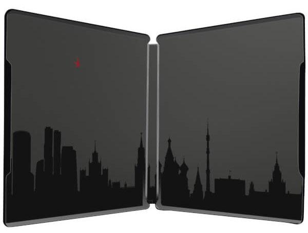 Red Sparrow steelbook zavvi 3