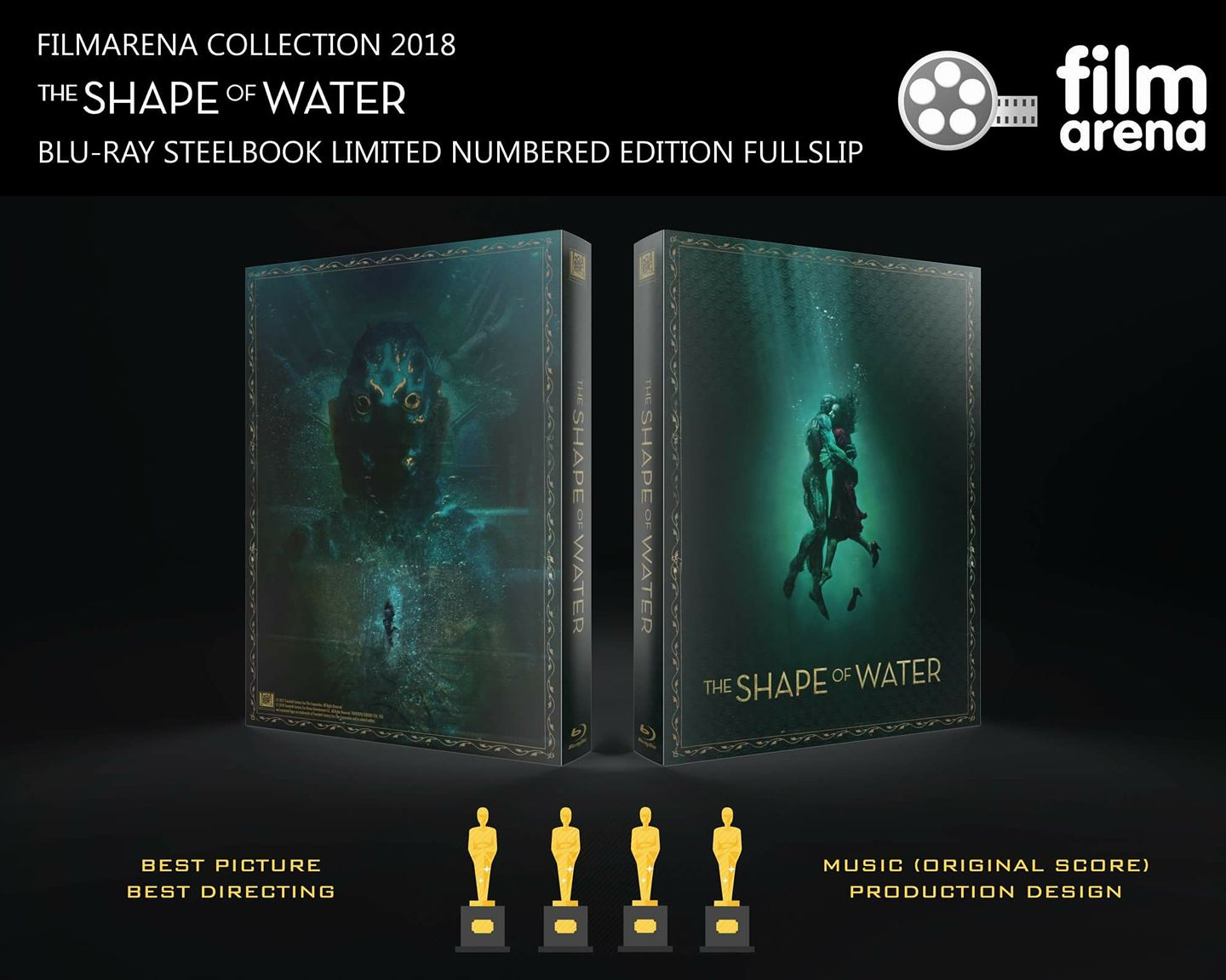The Shape Of Water steelbook filmarena