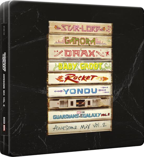 Guardians Galaxy vol 2 steelbook CD 1