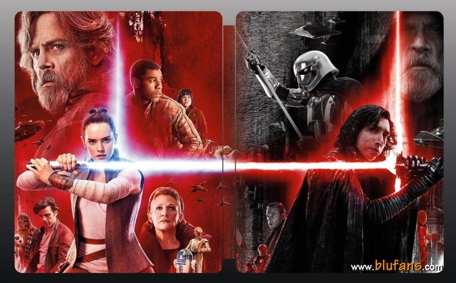 Star Wars The Last Jedi steelbook blufans 2